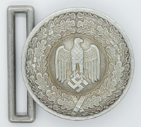 Army Officers Brocade Belt Buckle