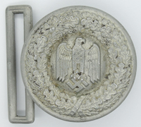 Army Officers Brocade Belt Buckle by Assmann