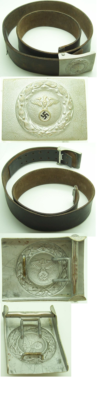 RLB/DLV EM/NCO Belt & Buckle