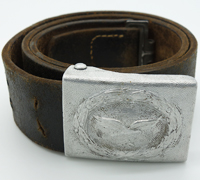 Luftwaffe EM/NCO Belt and Buckle by Overhoff & Cie