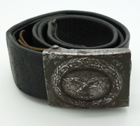 Luftwaffe Tropical EM/NCO Belt and Buckle by H. Arld 1942