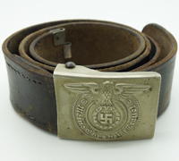 SS EM/NCO Belt and Buckle by Overhoff & Cie.