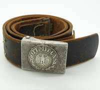 Army EM/NCO Belt and Buckle by LKO