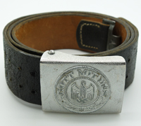 Army EM/NCO Belt and Buckle