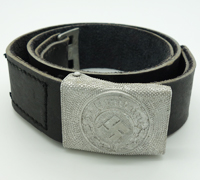 Police EM/NCO Belt and Buckle