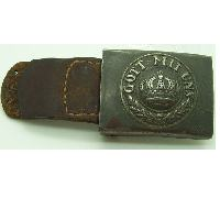 Tabbed Imperial Prussian Army Belt Buckle