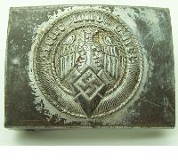 Hitler Youth Belt Buckle by Aurich