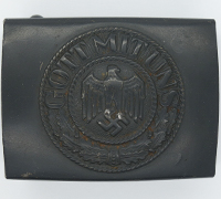 Navy Costal Artillery Belt Buckle by JFS