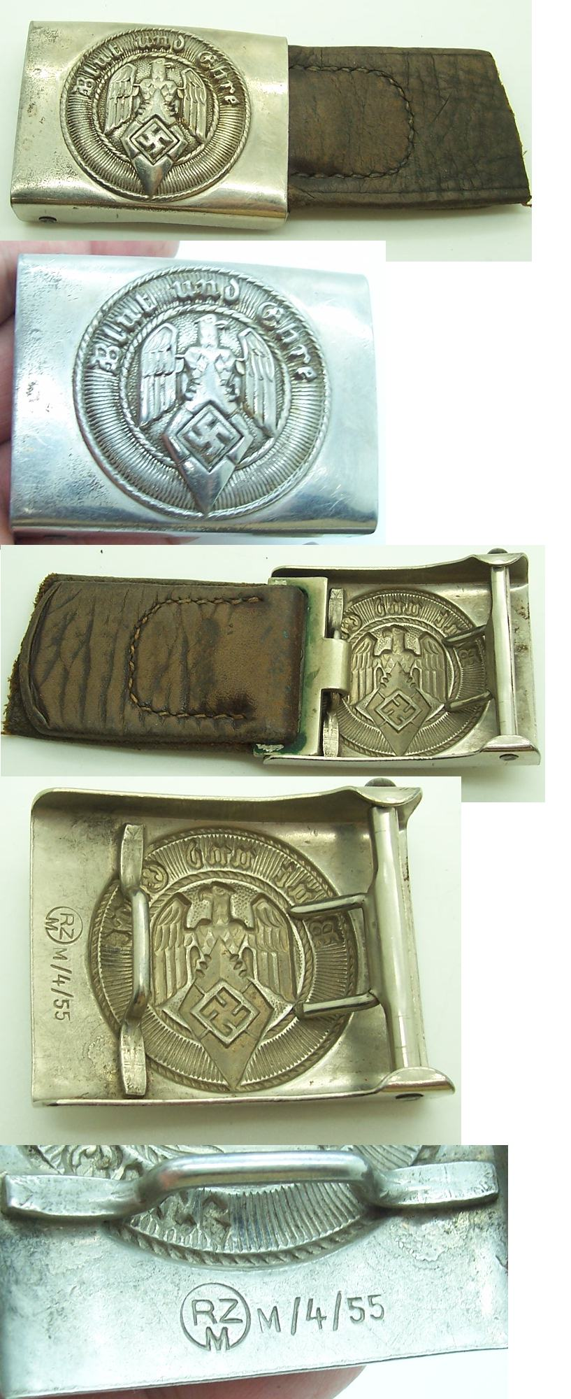 Hitler Youth Belt Buckle by Julius Kremp