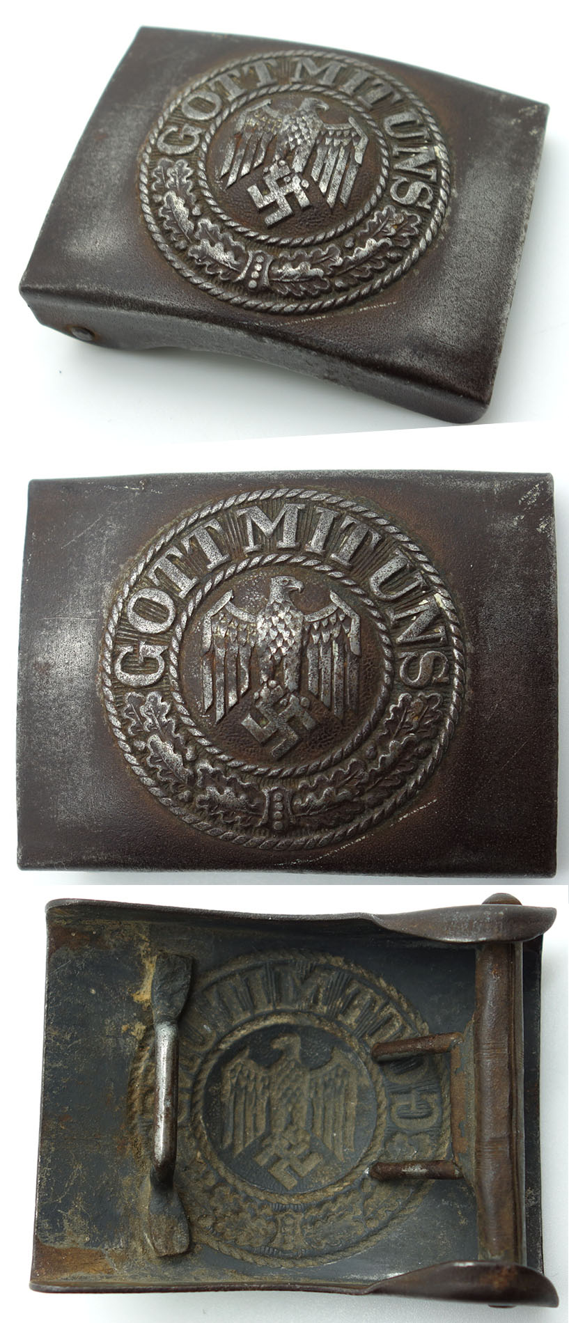 Coastal Artillery Buckle
