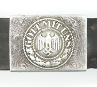 Army EM/NCO Belt and Buckle by G.K.&F.