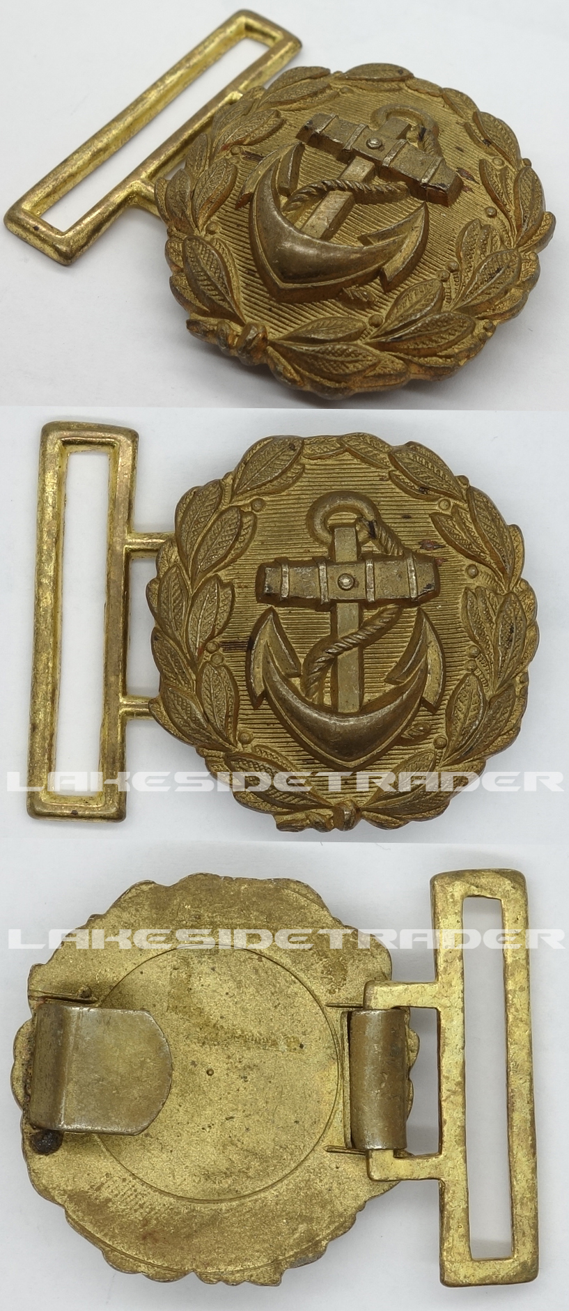 Navy Officers Undress Belt Buckle