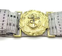 Navy Officer Brocade Belt and Buckle