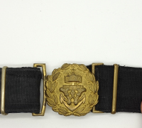 Imperial German Navy Officer's Daily Service Belt