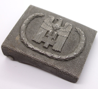 Red Cross Belt Buckle by Overhoff and co