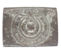 SS EM Belt Buckle by Overhoff