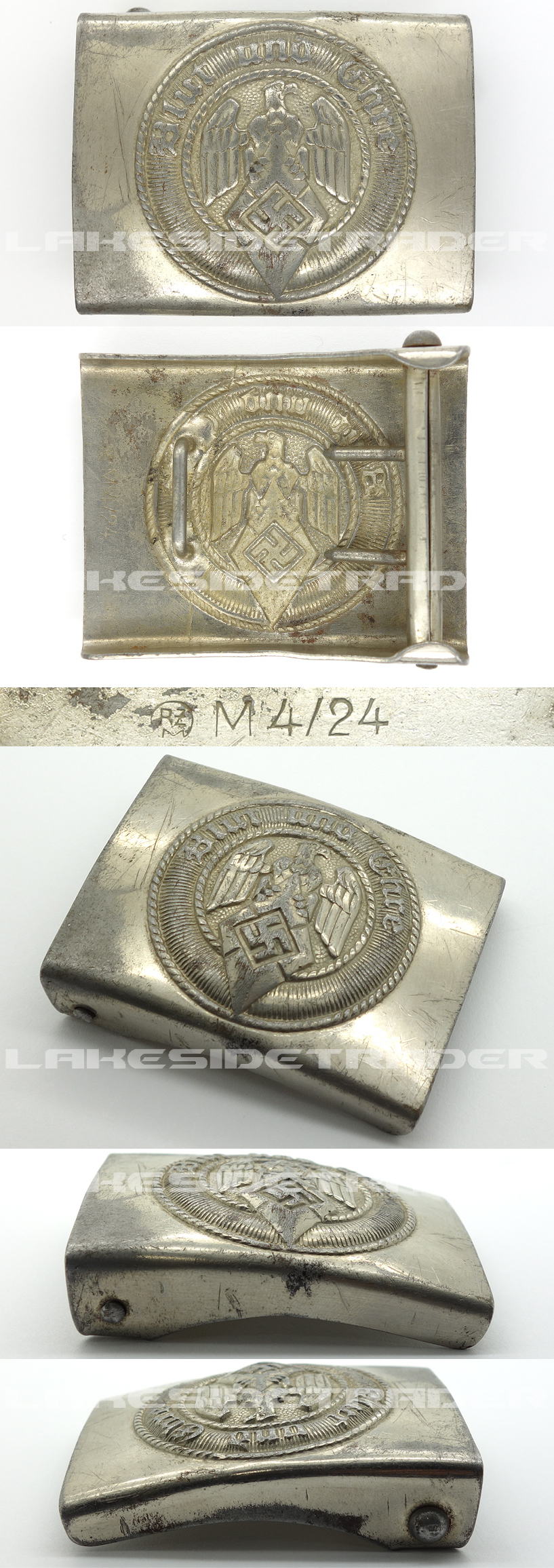 Hitler Youth Belt Buckle by FLL