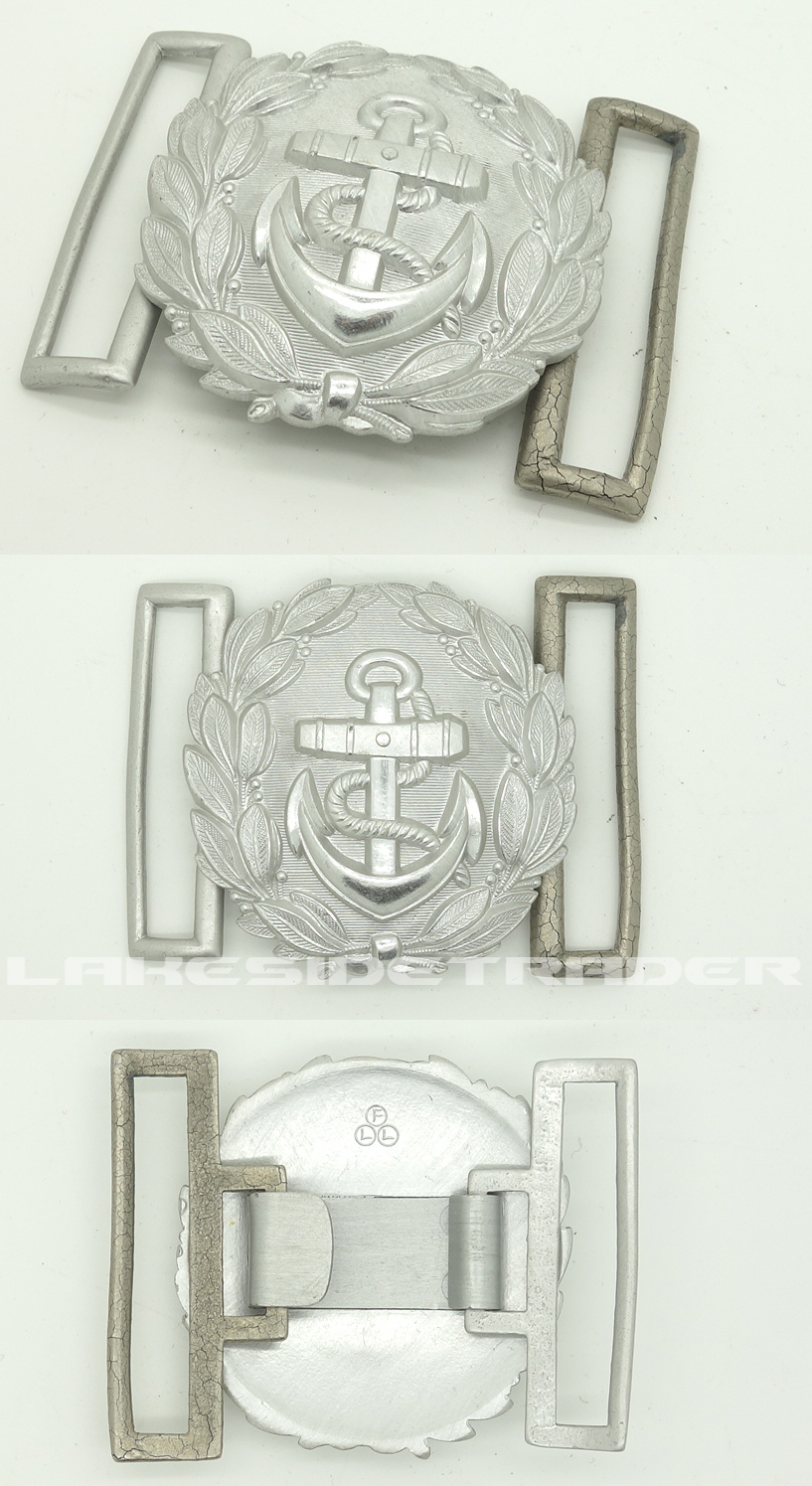Navy Administrative Officers Belt Buckle by FLL