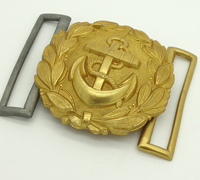 Navy Officers Belt Buckle by EJL