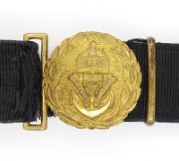 Imperial German Navy Officers Belt and Buckle
