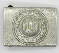 Rare Left-facing Army Belt Buckle by S&L