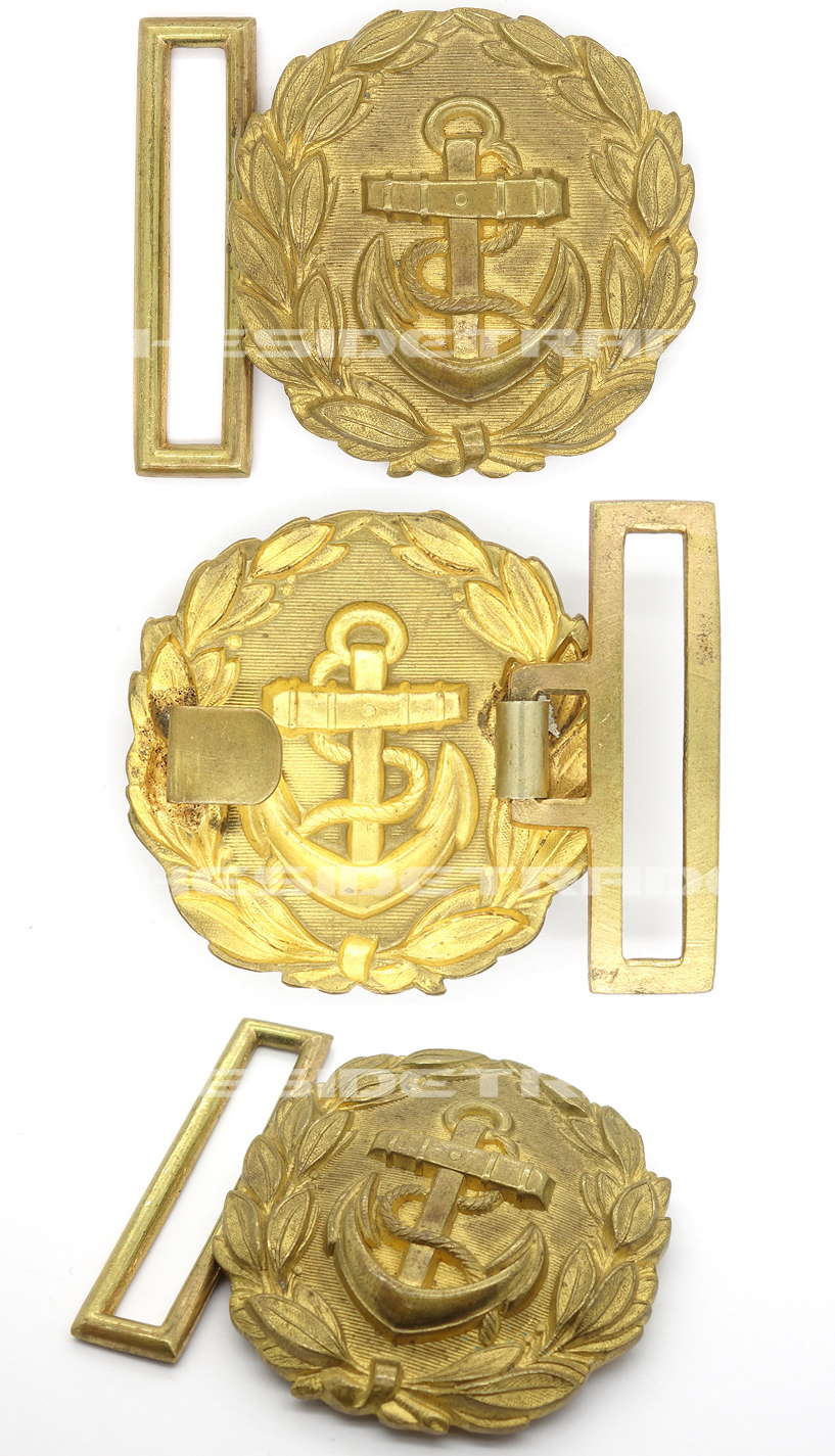 Early Navy Officers Belt Buckle