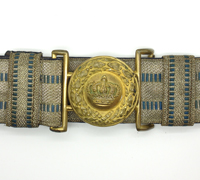 Imperial Officer Brocade Belt and buckle