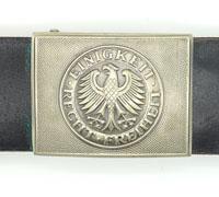 Bundeswehr Army Belt & Buckle
