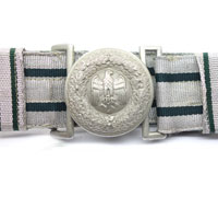 Army Officers Brocade Belt and Buckle