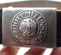 Army Dress Belt and Buckle by  by RS&S