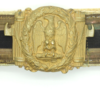 MVSN Brocade Belt and Buckle