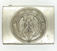 Hitler Youth Belt Buckle by RZM M4/24
