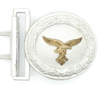 Luftwaffe Officers Brocade Belt Buckle by Assmann