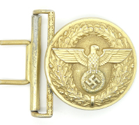 Political Leader Belt Buckle by Schroder