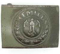 Army Belt Buckle by Schmolle