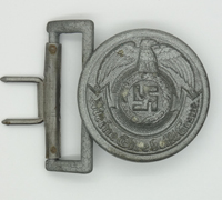 SS Officers Belt Buckle by Emil Jüttner