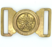 Japanese Army Officer Belt Buckle