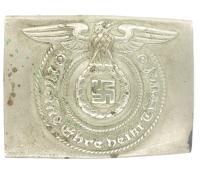 Early SS EM Belt Buckle by O&C