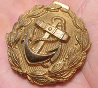 Navy Undress Belt Buckle
