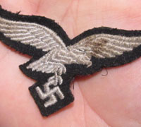 Luftwaffe Herman Goring Division Cap Badge