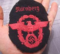 Nurnberg NCO Fireman's Eagle