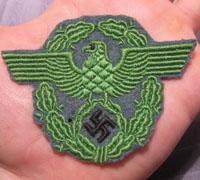 Schutzpolizei des Reichs  Police Sleeve Eagle