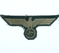 Uniform Removed Army EM/NCO Breast Eagle