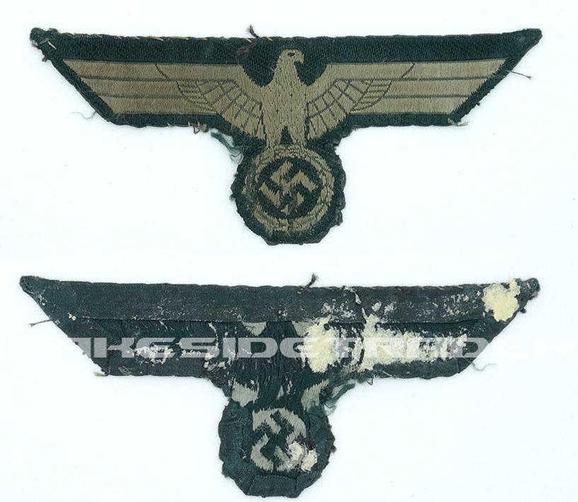 Uniform Removed Army EM/NCO Breast Eagle