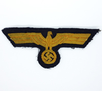Uniform removed Navy Officer Breast Eagle