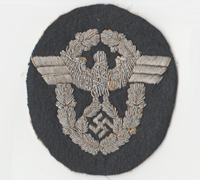 Police Officers Sleeve Eagle