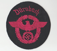 """Dürnbach"" Feuerschutzpolizei Sleeve Eagle"