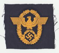 Wasserschutzpolizei Police Sleeve Eagle