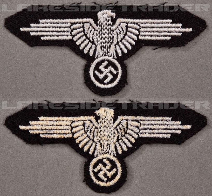 SS EM/NCO Sleeve Eagle