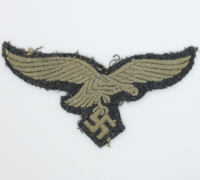 Uniform removed Luftwaffe EM Breast Eagle